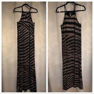 Floor length mermaid dress